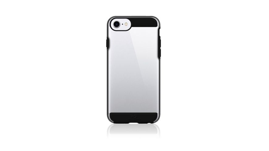 Cover Innocence Tough Clear fuer Apple iPhone 6 6s 7 8 Schwarz