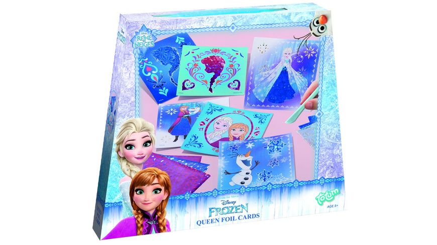 TM ESSENTIALS FROZEN GLITZERFOLIENKARTEN