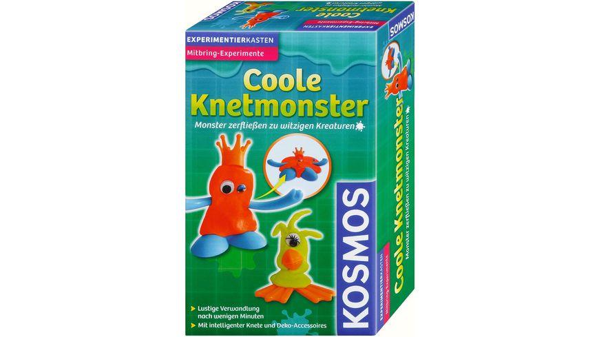 KOSMOS Mitbringexperimente Coole Knetmonster