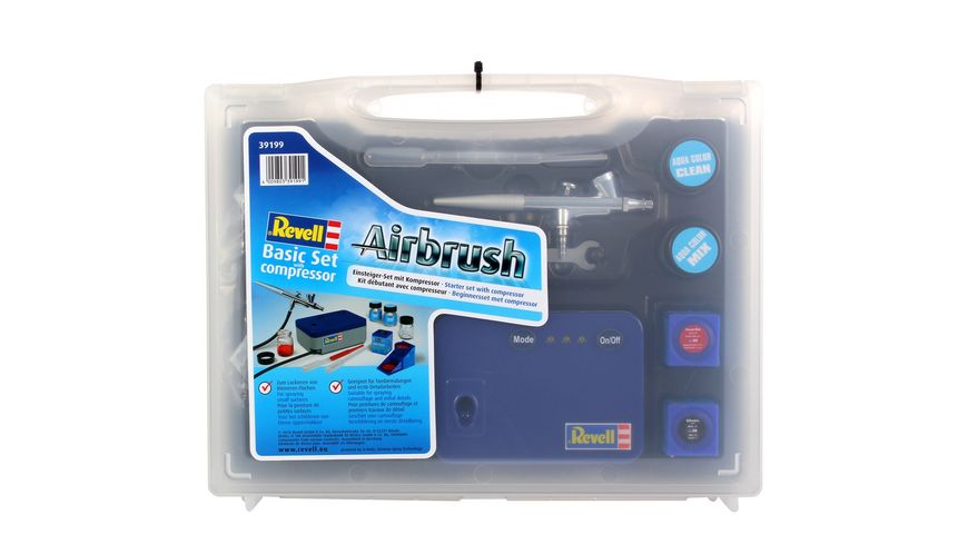 Revell Airbrush 39199 Basic Set mit Kompressor