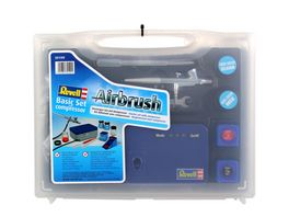 Revell 39199 Airbrush Basic Set mit Kompressor Neuversion 2011