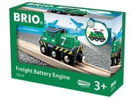 BRIO Bahn Batterie Frachtlok