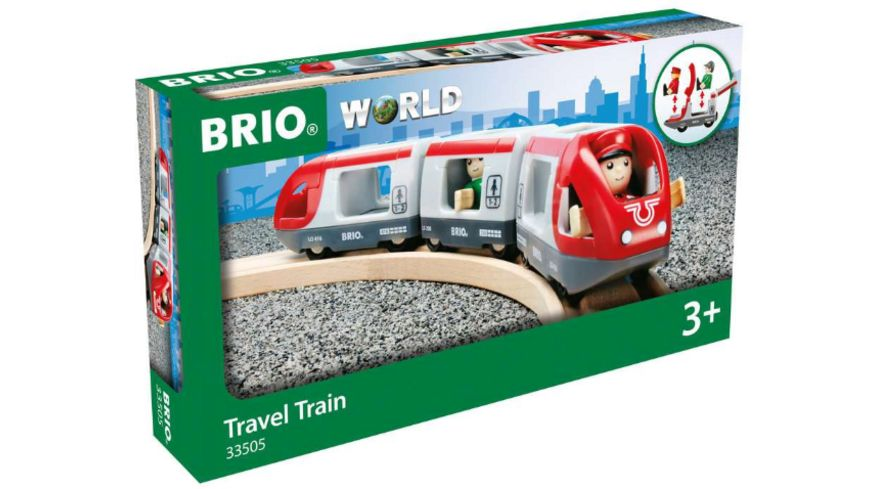 BRIO Bahn - Roter Reisezug