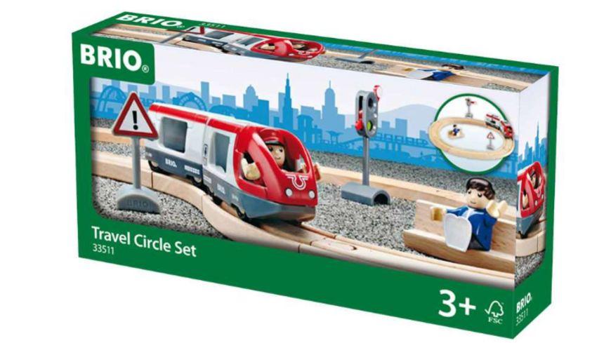 BRIO Bahn Starter Personenzug Set