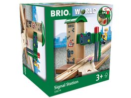 BRIO Bahn Signal Station