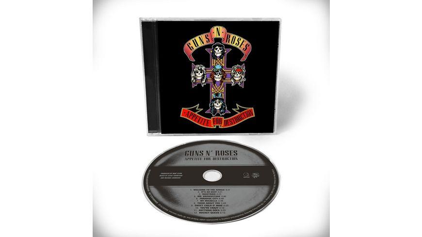 Appetite For Destruction 1CD Edition