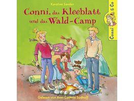K Sander Conni Das Kleeblatt Und Das Wald Camp