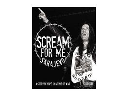 Scream For Me Sarajevo DVD