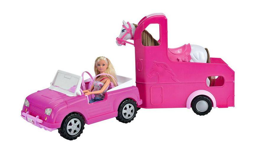 Simba Steffi Love Horse Trailer inkl 1 Steffi Puppen
