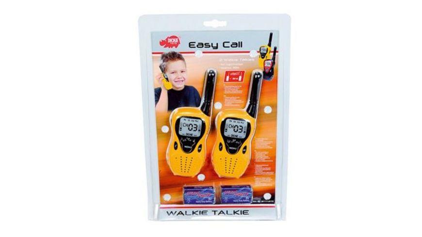 Dickie Walkie Talkie Easy Call 2 sort