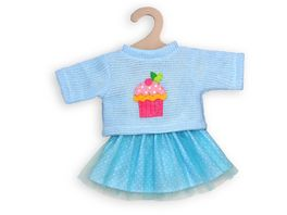 Heless Pullover und Tuellrock Cupcake Gr 35 45 cm