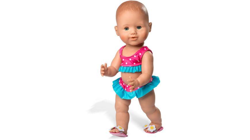 Heless Bikini mit Badeschlaeppchen Gr 28 35cm
