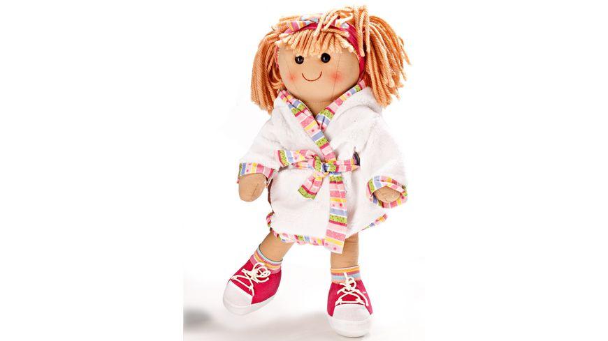 Heless Bademantel fuer Puppen Gr 35 45 cm