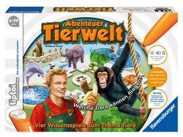 Ravensburger Spiel tiptoi Abenteuer Tierwelt