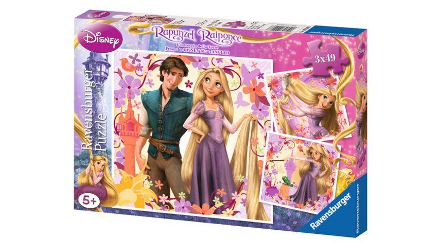 Ravensburger Puzzle Rapunzel 3x49 Teile