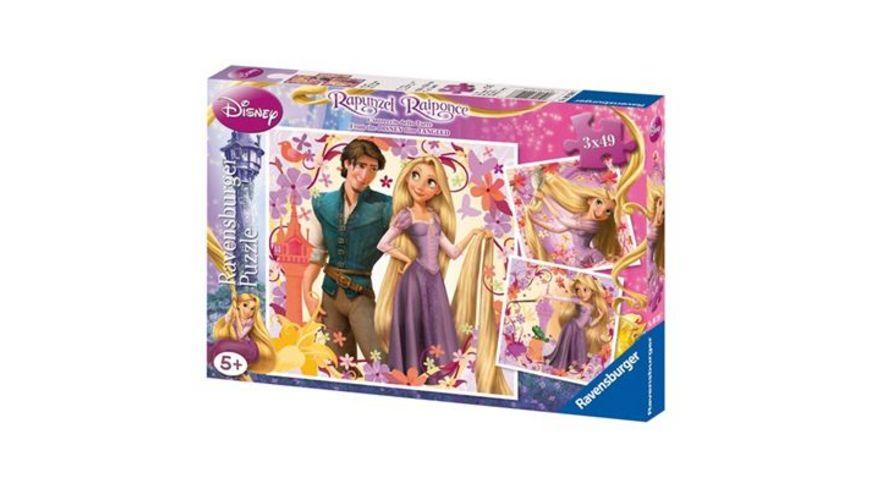 Ravensburger Puzzle Rapunzel 3 x 49 Teile