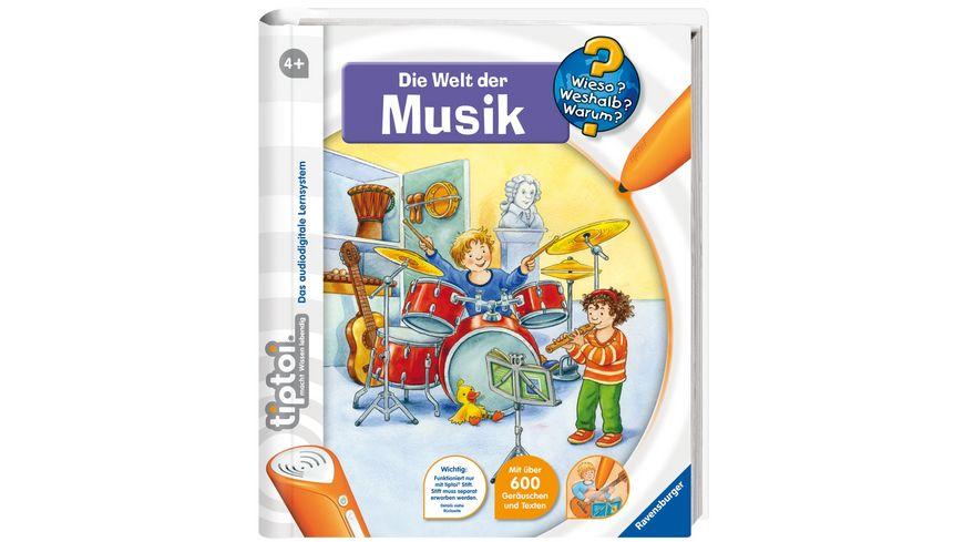 Ravensburger Buch Wieso Weshalb Warum tiptoi Die Welt der Musik