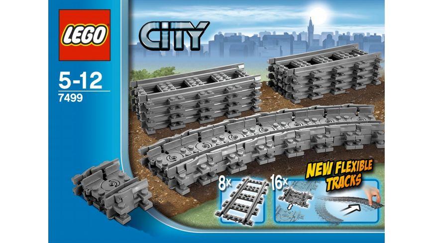 LEGO City 7499 Flexible Schienen
