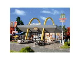 VOLLMER 43634 H0 McDonald s Restaurant mit McDrive