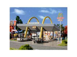 Vollmer H0 McDonald s Restaurant mit McDrive