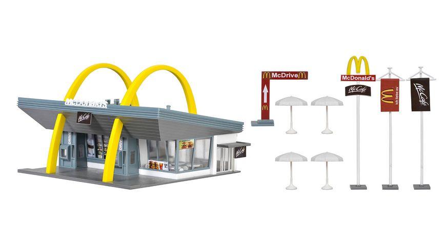 Vollmer 43634 H0 - McDonald's Restaurant mit McDrive
