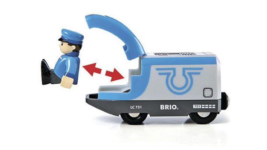 BRIO Bahn Blauer Reisezug