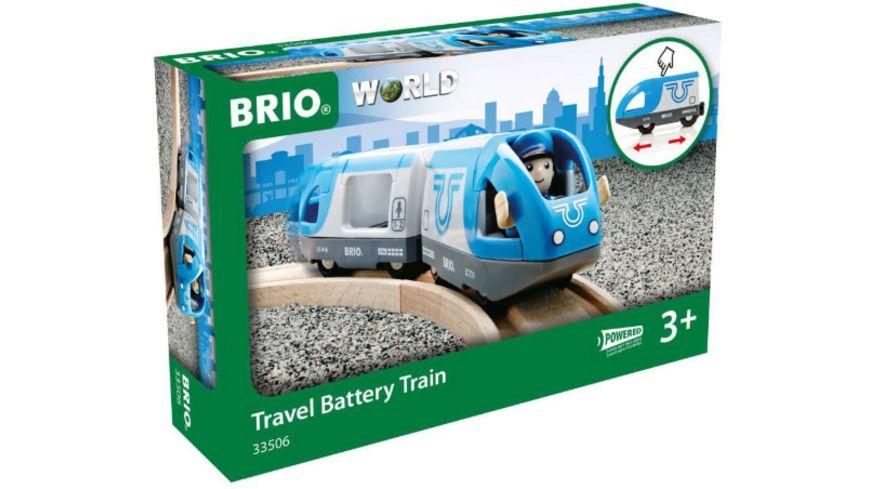 BRIO Bahn - Blauer Reisezug Batteriebetrieb