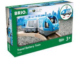 BRIO Bahn Blauer Reisezug Batteriebetrieb