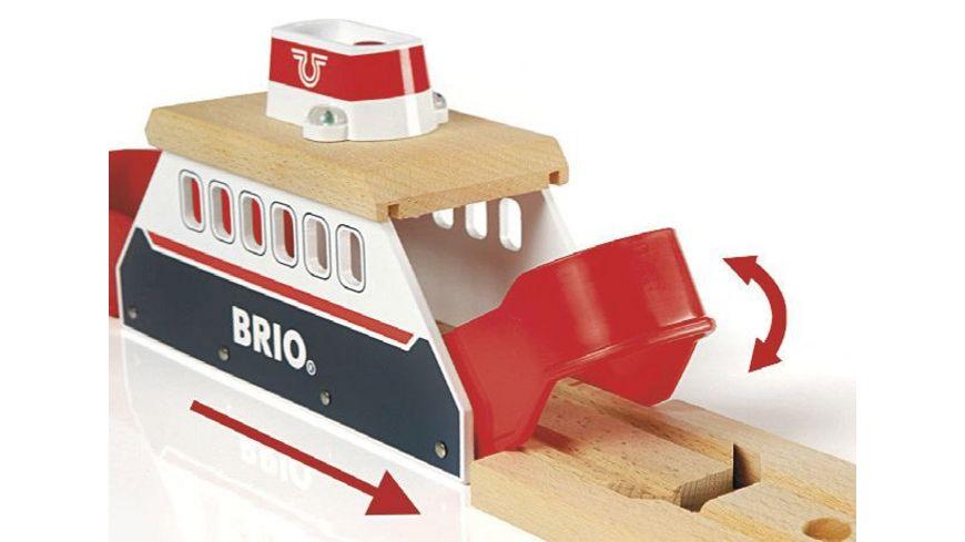BRIO Bahn Light und Sound Faehre