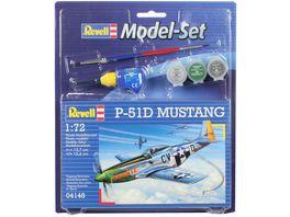 Revell 64148 Model Set P 51D Mustang