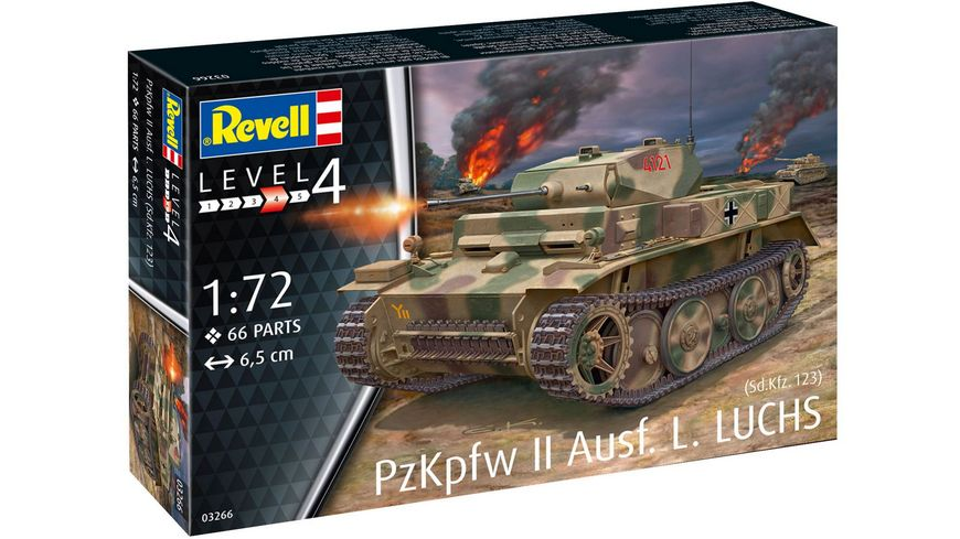 Revell 03266 PzKpfw II Ausf L LUCHS Sd Kfz 123