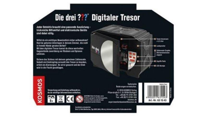 KOSMOS Die drei Digitaler Tresor