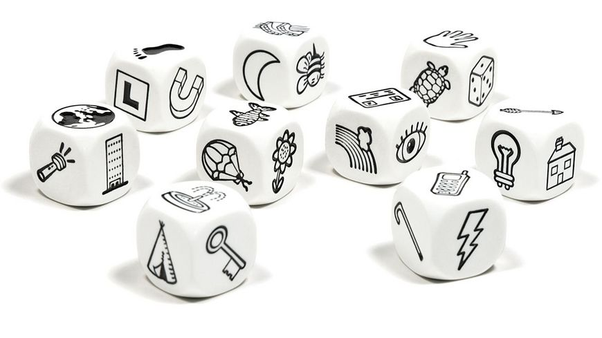 The Creativity Hub Story Cubes
