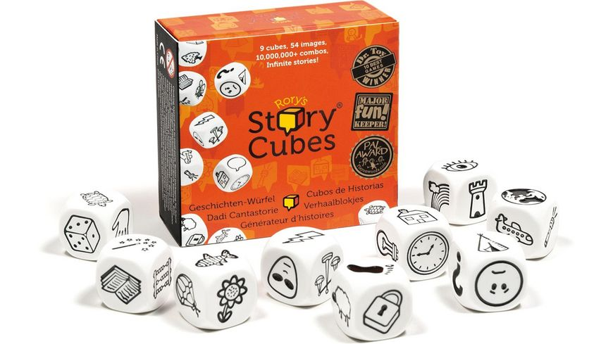 The Creativity Hub Story Cubes