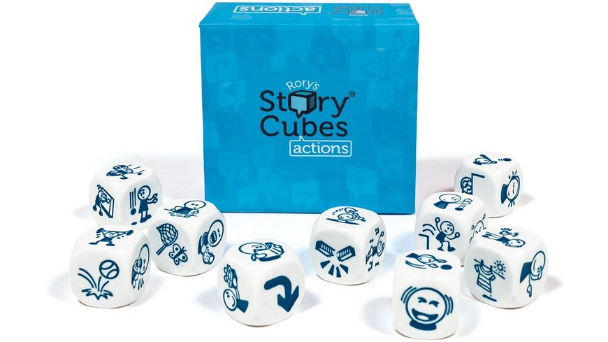 The Creativity Hub Story Cubes Actions