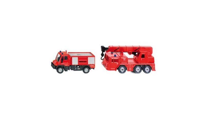 SIKU 1661 Super Feuerwehr Set