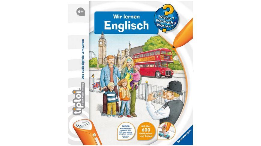 Ravensburger Buch Wieso Weshalb Warum tiptoi Wir lernen Englisch
