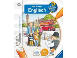 Ravensburger tiptoi Wieso Weshalb Warum Wir lernen Englisch