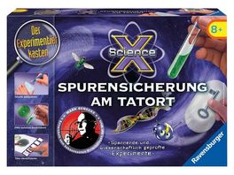 Ravensburger Beschaeftigung ScienceX Spurensicherung am Tatort