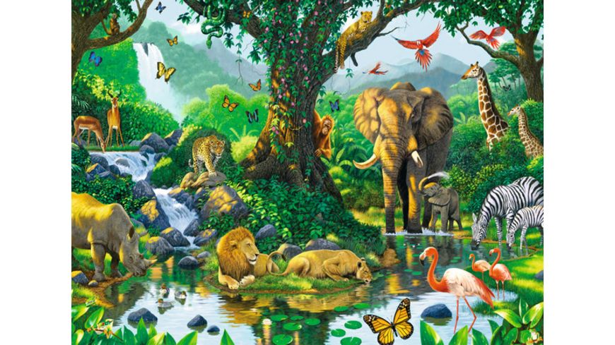 Ravensburger Puzzle Harmonie im Dschungel 500 Teile