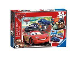 Ravensburger Puzzle Cars 2 Weltweiter Rennspass 3 x 49 Teile