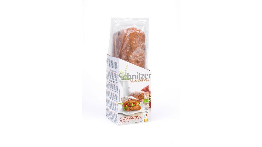 Schnitzer Bio Glutenfree Ciabatta Tomato
