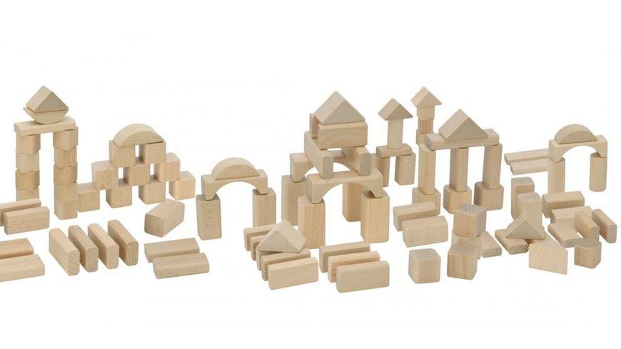 Eichhorn Natur Holzbausteine 100 Teile