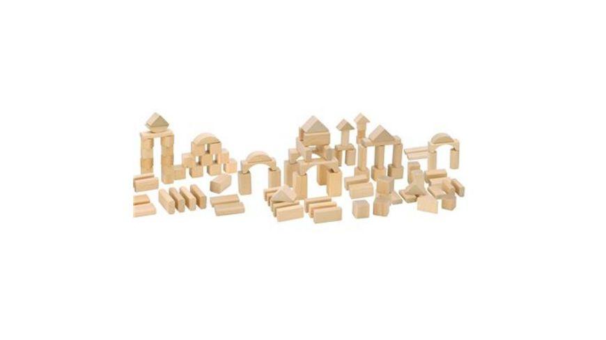 HEROS Natur Holzbausteine 100 Teile