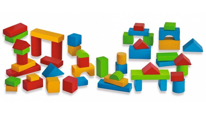 Simba HEROS Holzbausteine Baby Box 50