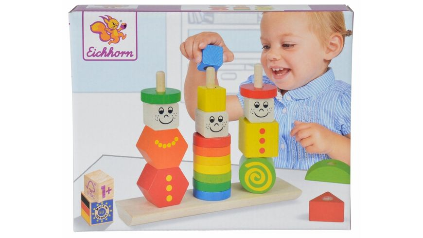 Eichhorn Figuren Steckpuzzle