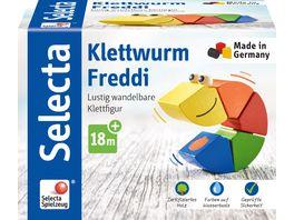 Selecta Klettwurm Freddi Stapelspielzeug