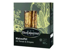 BioGourmet Maiswaffel Tomate Oregano