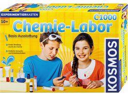 KOSMOS Experimentierkaesten Chemielabor C 1000