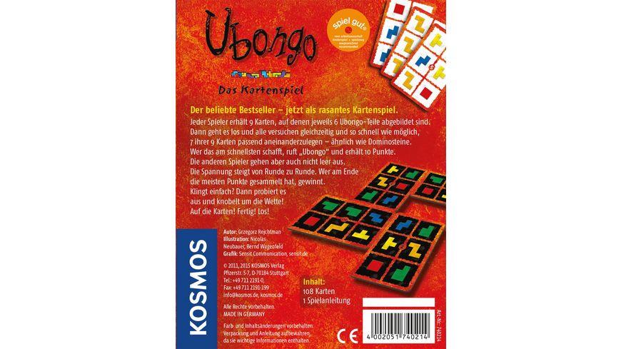 KOSMOS Kartenspiel Ubongo